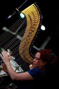 Jazz Harp: Rachael Gladwin at the Soho Jazz Club, London