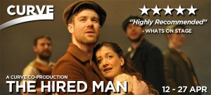Theatre: The Hired Man 2013 with Rachael Gladwin, actor/musician/harpist