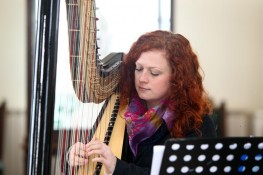 Testimonials: Harp music for a christening, Ashton Memorial, Lancaster