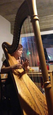 Testimonials: Rachael Gladwin harpist playing in Geneva, Switzerland