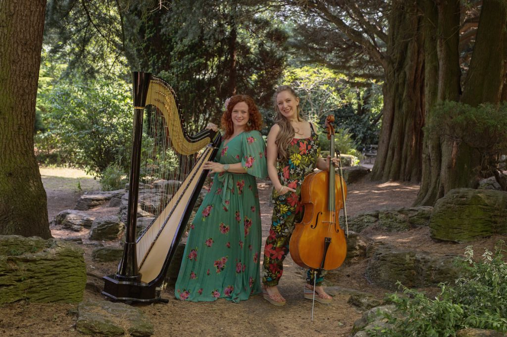 Duo Bellatando, Cello and Harp for Weddings and Events